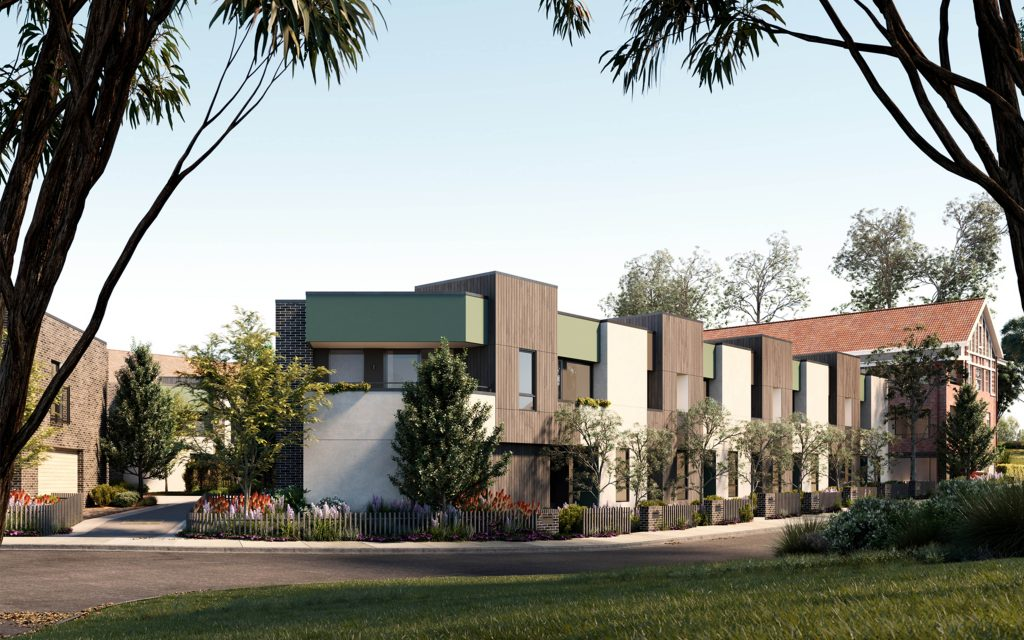 NOVA Heritage & Contemporary Terrace Homes - sliders